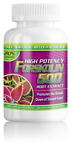 FORSKOLIN-500mg per serving-60-ct Veggie Caps