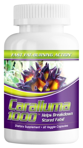 CARALLUMA-1000mg per serving-60ct-Veggie Caps