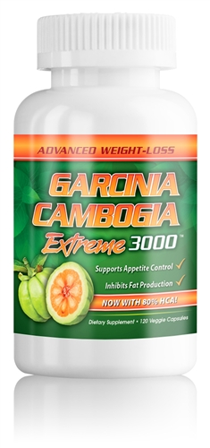GARCINIA EXTREME-3000mg per serving-120 ct-Veggie Caps