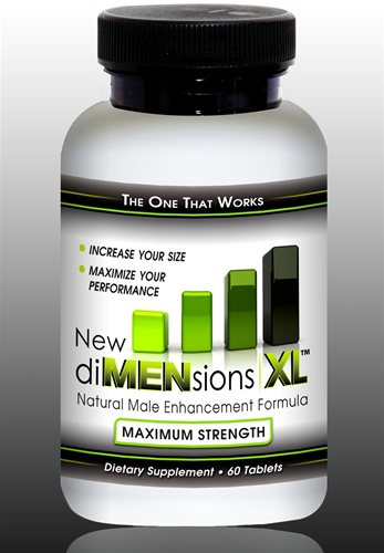 Get the last longer in bed pills that make your penis bigger!  New diMENsions XL natural enhancement pills